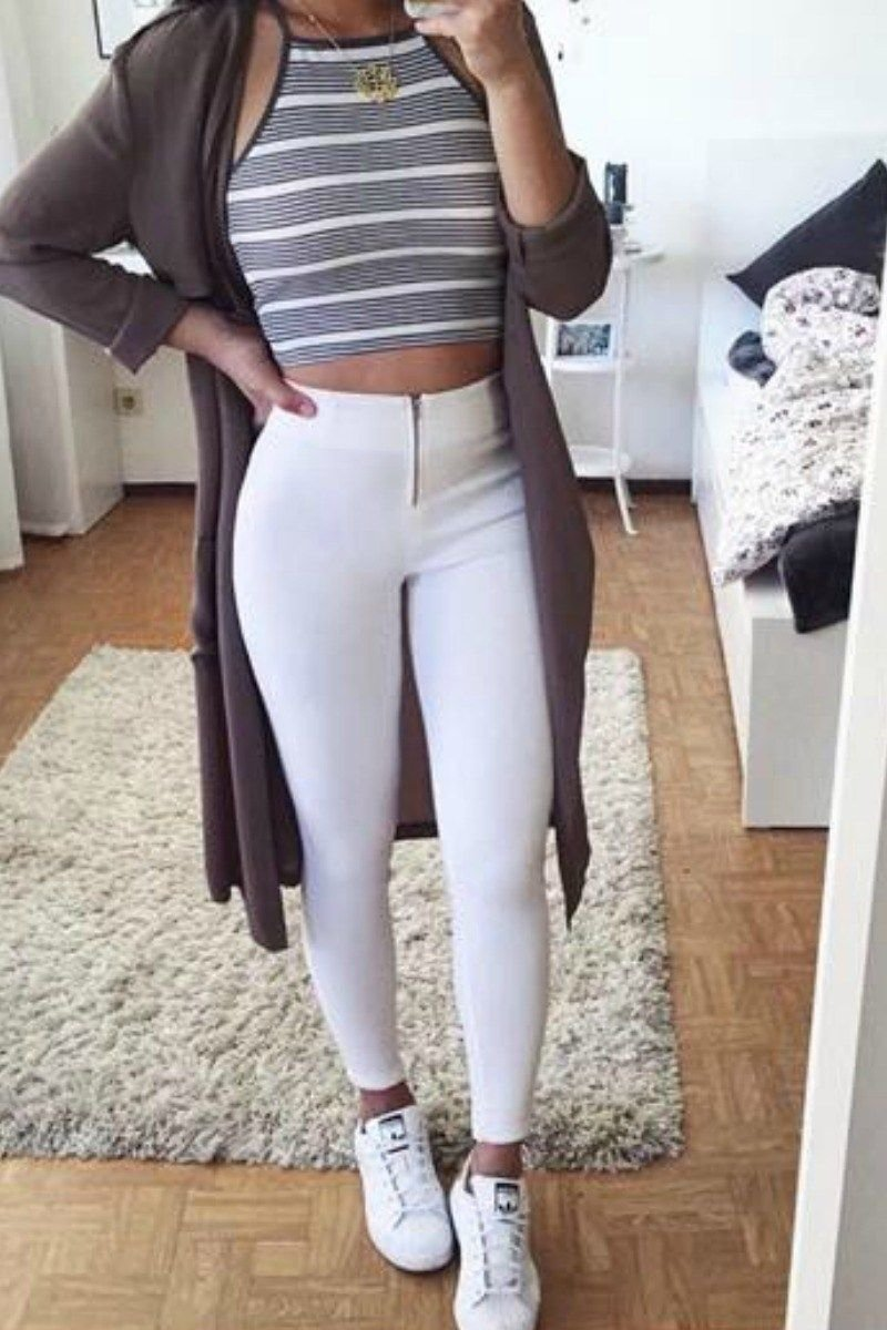 10 Cute Cute Outfit Ideas With Jeans 65 cute fall outfits for school you need to wear now winter 2 2020