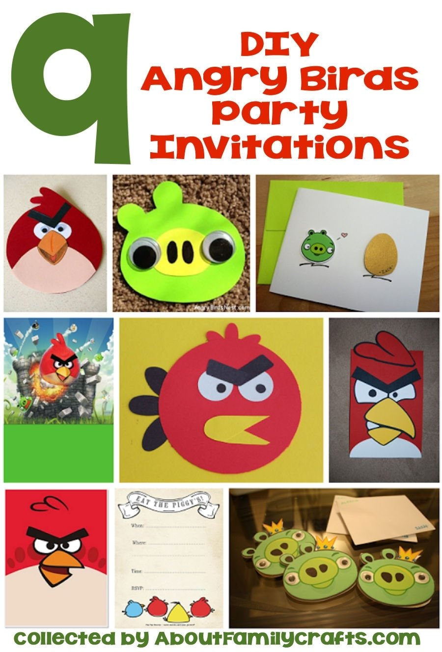10 Famous Angry Bird Birthday Party Ideas 65 diy angry birds party ideas about family crafts 1 2020