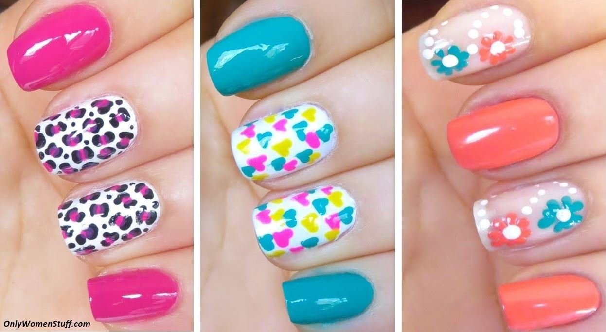 10 Unique Nail Art Ideas Step By Step 65 easy and simple nail art designs for beginners to do at home 2021