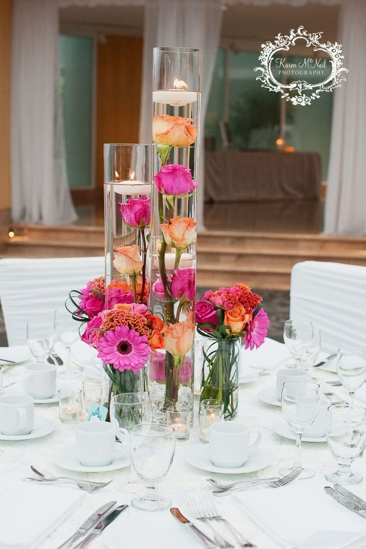 10 Attractive Pink And Orange Wedding Ideas 69 best wedding flowers decorations images on pinterest wedding