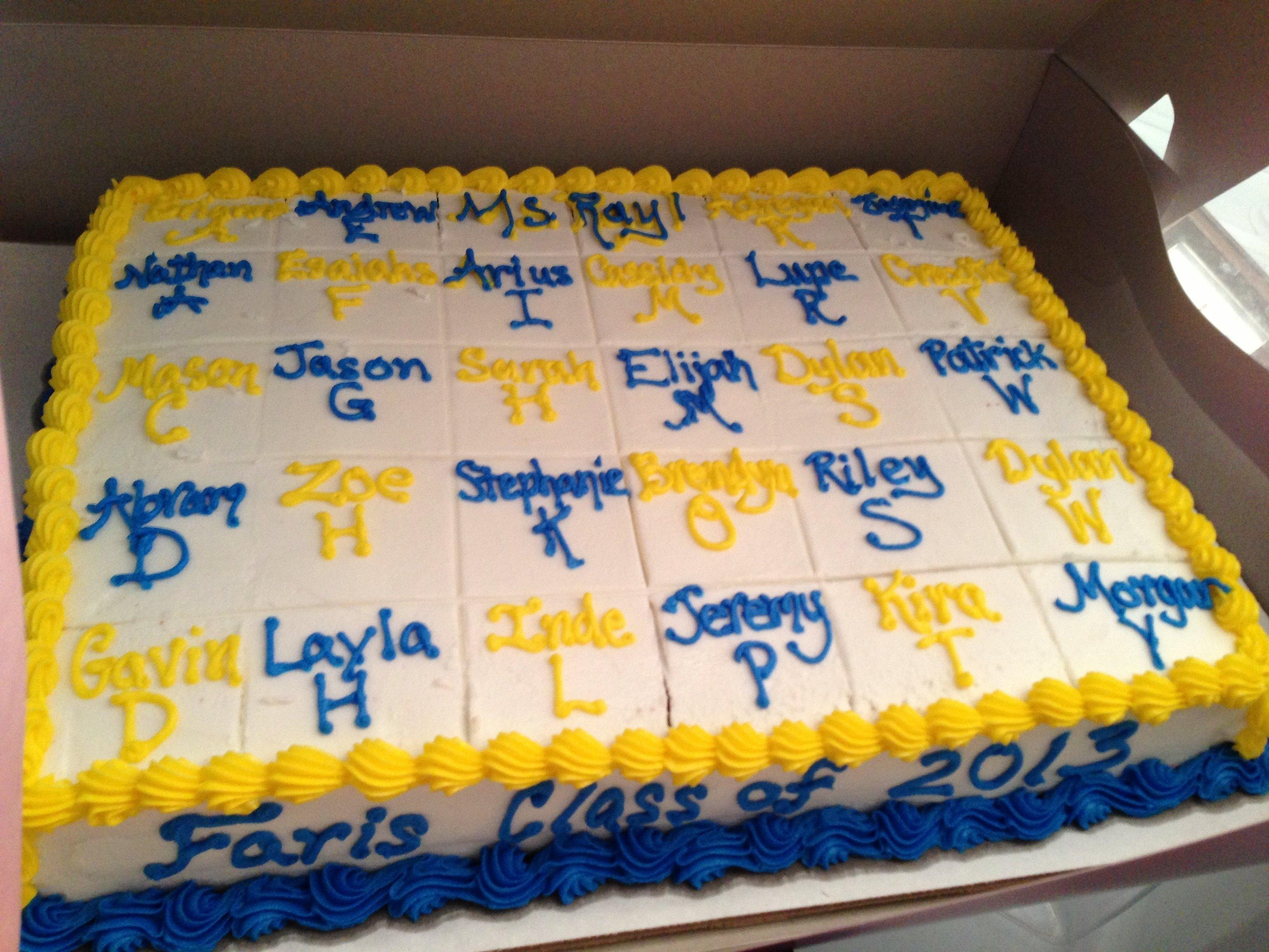 10 Fantastic 6Th Grade Graduation Party Ideas 6th grade graduation cake cakes i have made pinterest 1 2021