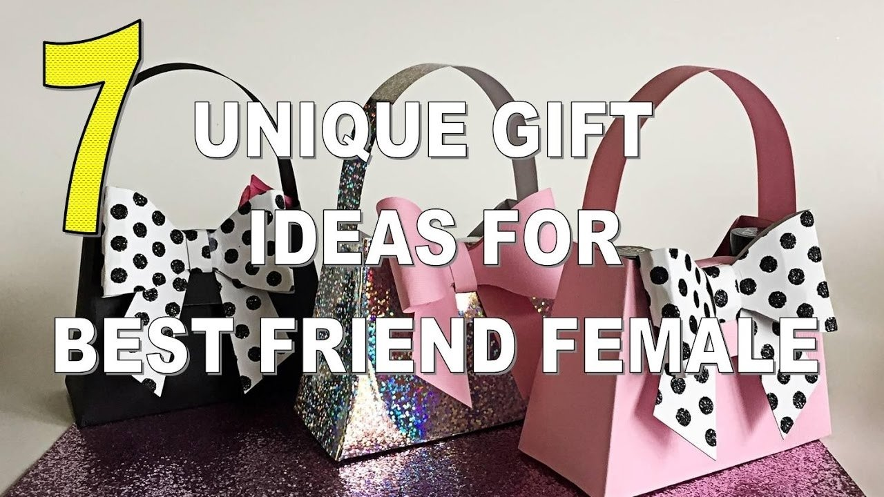 7 best unique gift ideas for best friend female - youtube