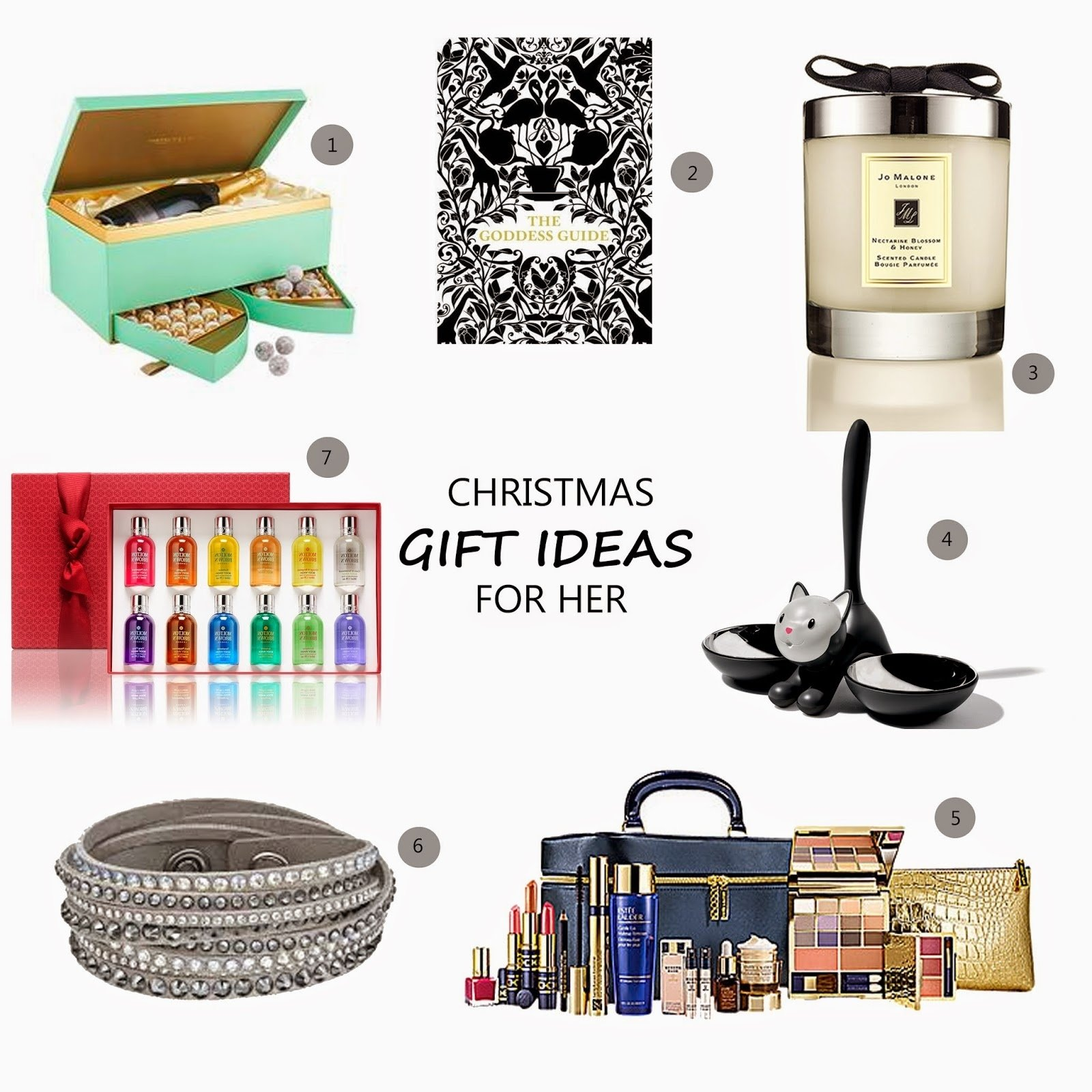 10 Fabulous Christmas Present Ideas For Her 7 christmas gift ideas for her lovedlaura