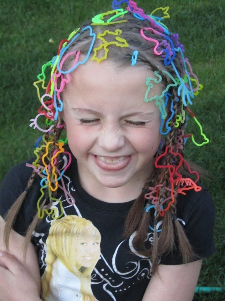 10 Elegant Crazy Hair Day Ideas For Long Hair 7 crazy hair day styles for school woman fashion nicepricesell