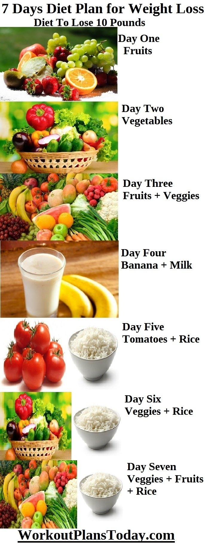 10 Fantastic Diet Ideas For Weight Loss 7 days diet plan for weight loss diet to lose 10 pounds workout 2020