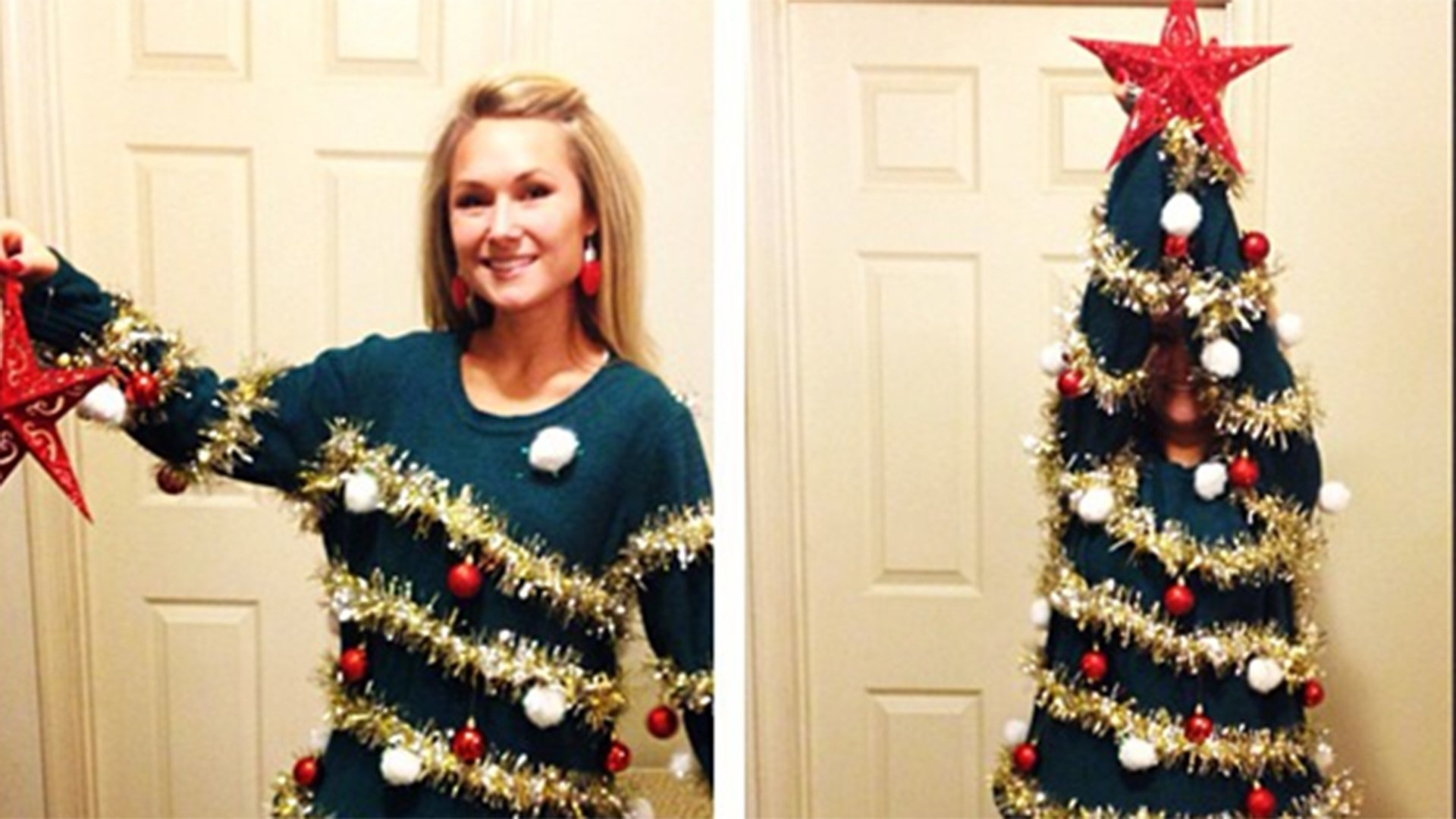 10 Fantastic Do It Yourself Ugly Christmas Sweater Ideas 7 diy ugly christmas sweaters from pinterest 1 2020