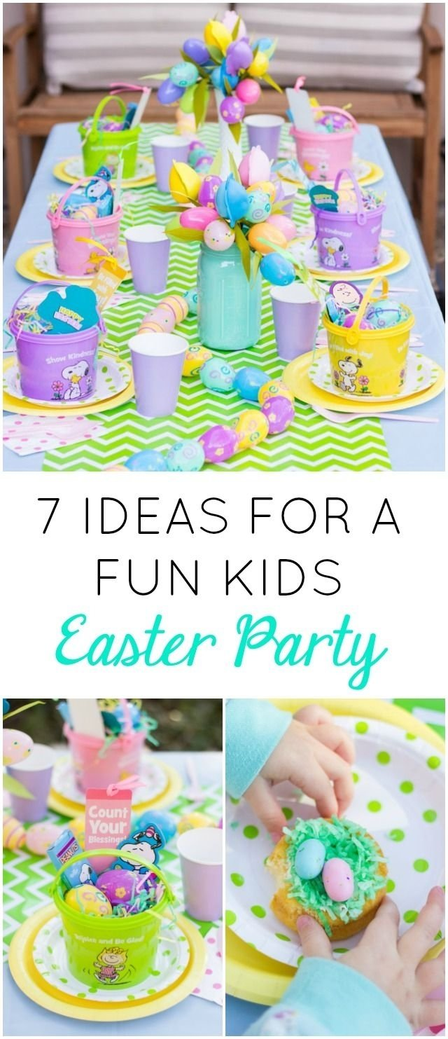 10 Spectacular Easter Party Ideas For Kids 7 fun ideas for a kids easter party easter party easter and holidays 2020