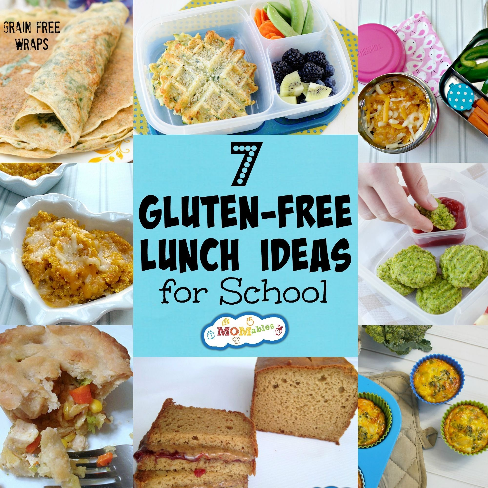 7 gluten free lunch ideas for school - momables