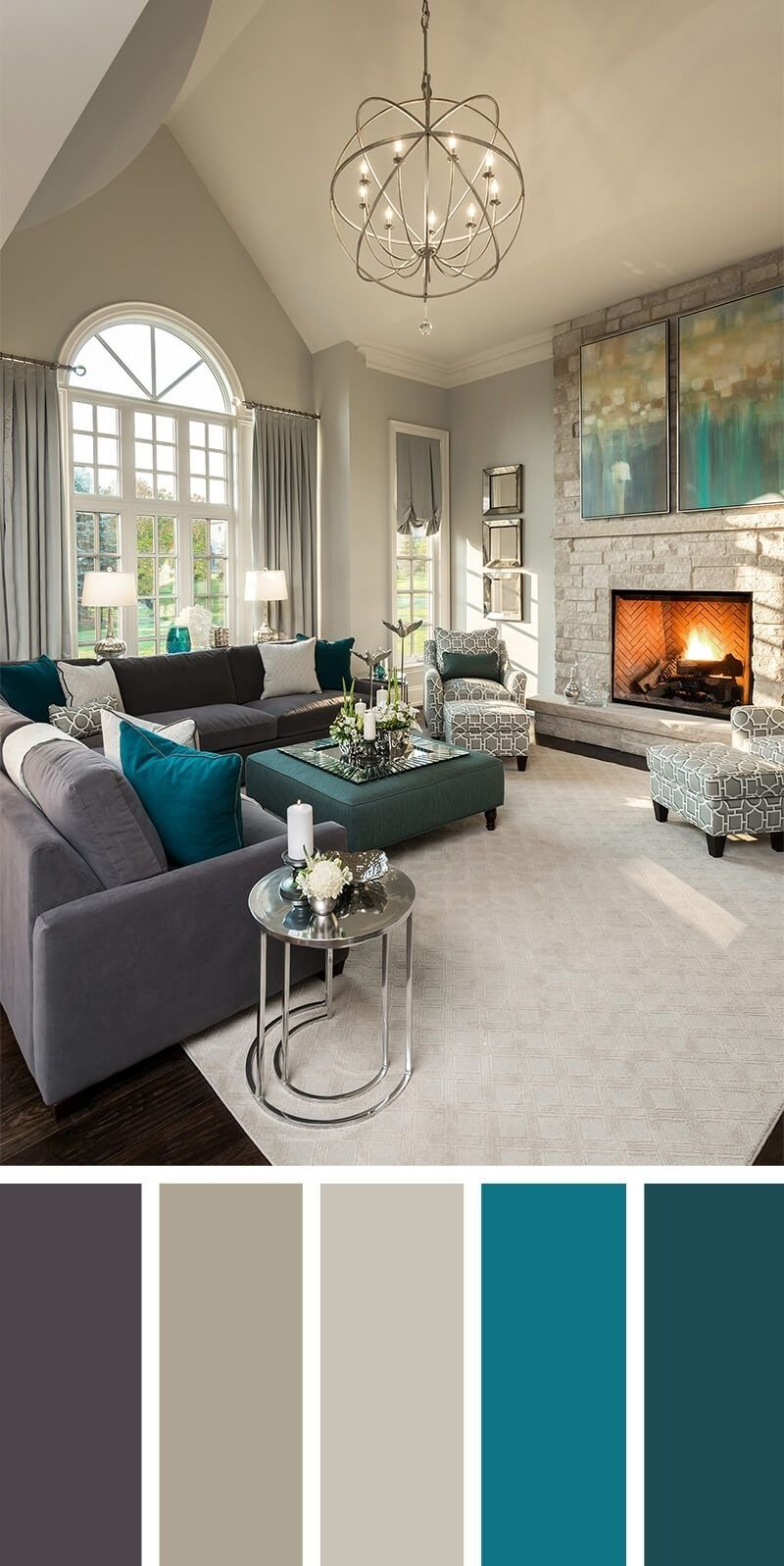 10 Stunning Living Room Paint Ideas Pinterest 7 living room color schemes that will make your space look 2021