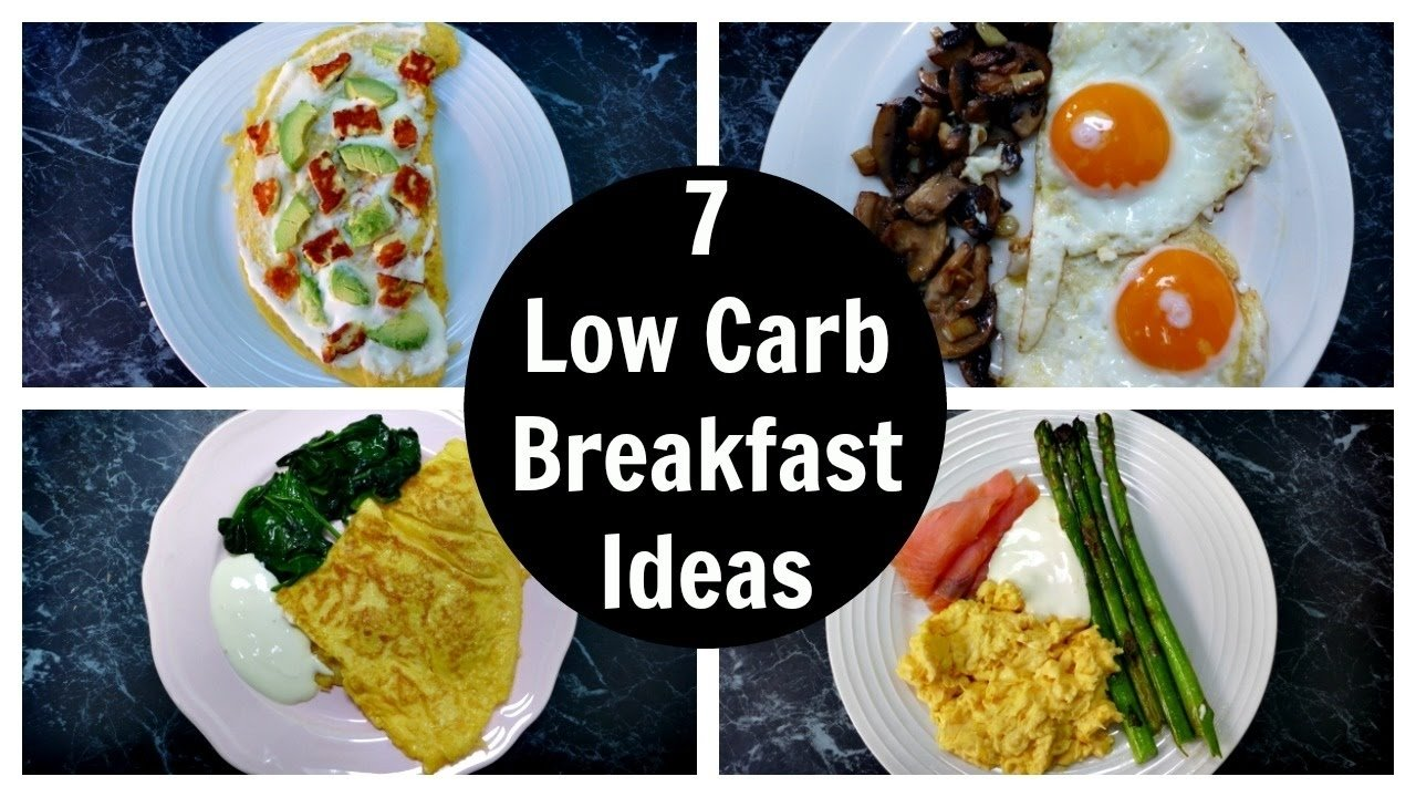 10 Pretty Low Carb Breakfast Ideas On The Go 7 low carb breakfast ideas a week of keto breakfast recipes youtube 1 2020