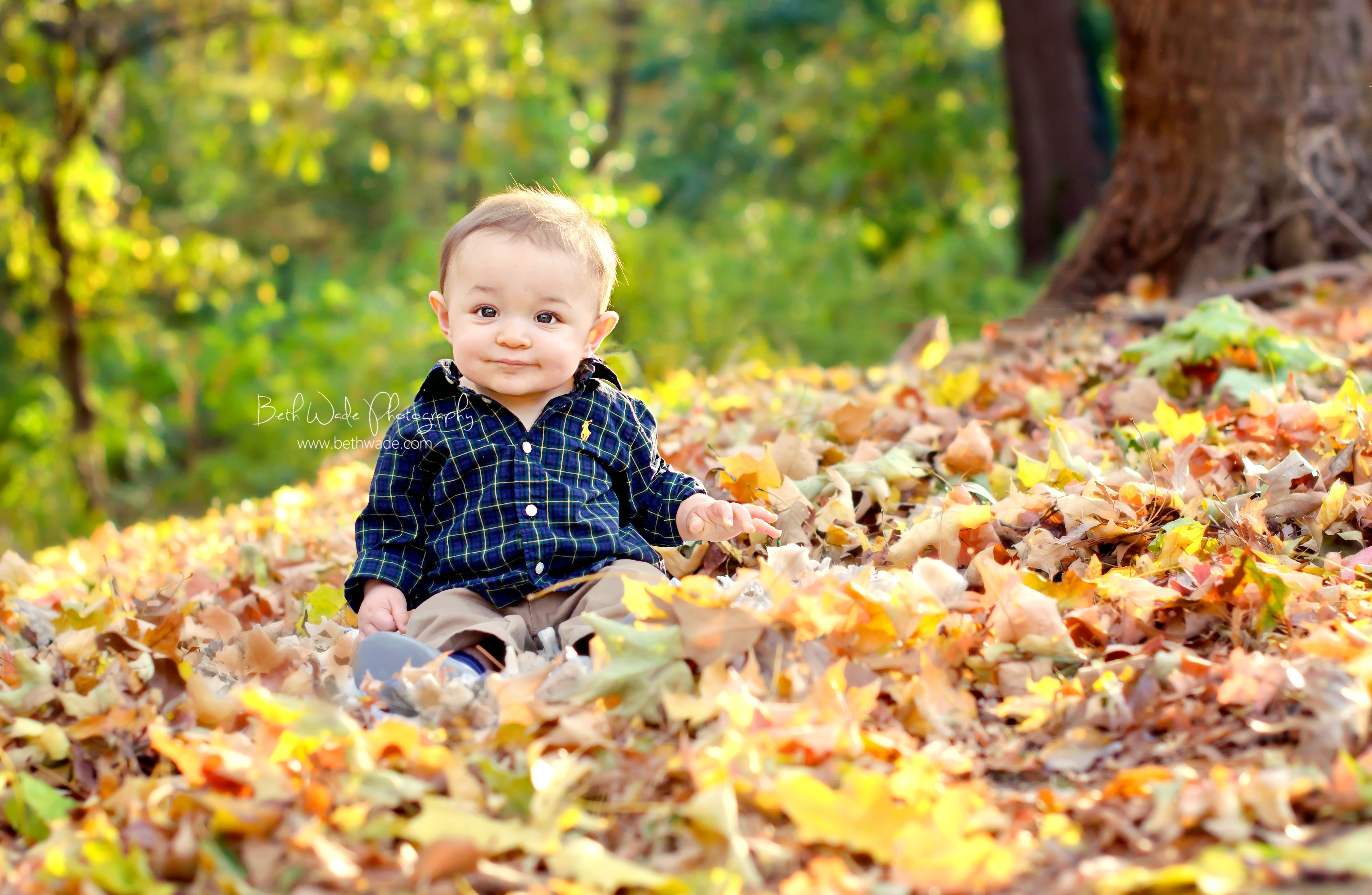 10 Great Fall Picture Ideas For Babies 7 month old baby boy charlotte baby photographer my photography 1 2020