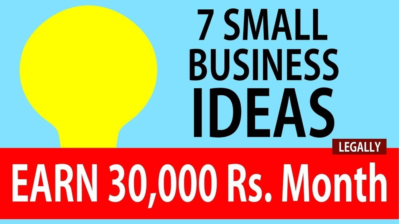 10 Awesome Ideas For A Small Business 7 small business ideas for women earn 30000 rupees month youtube 1