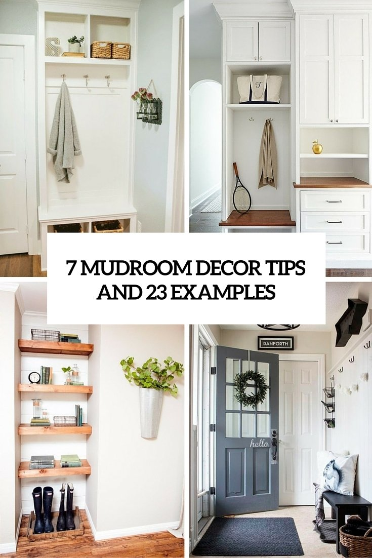 10 Great Mudroom Ideas For Small Spaces 7 small mudroom decor tips and 23 ideas to implement them shelterness 2021