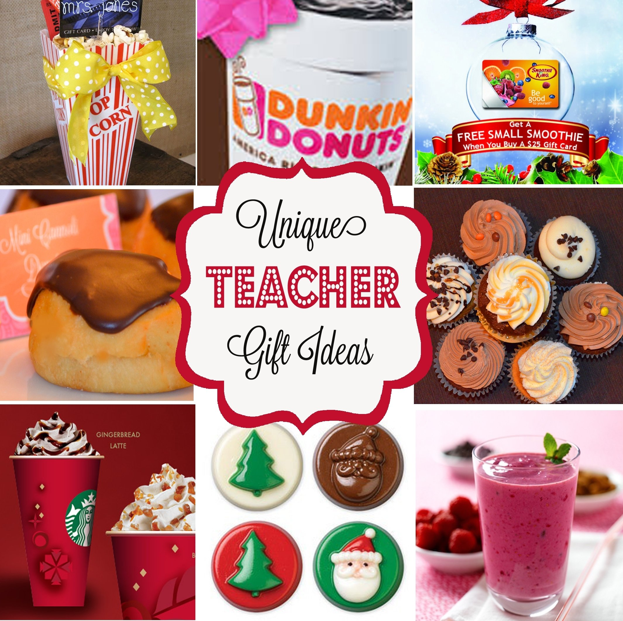 10 Fashionable Holiday Gift Ideas For Teachers 7 unique teacher appreciation or holiday gift ideas freebie 2021