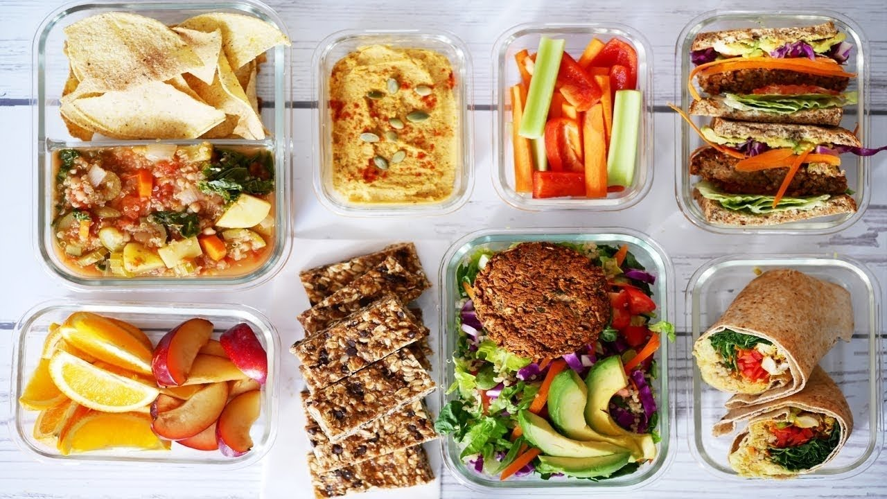 7 vegan school/work lunchbox ideas | easy meals & snacks | vegan