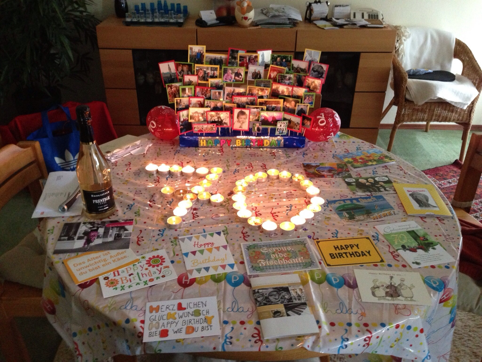 10 Nice Ideas For A 70Th Birthday Party 70th birthday decoration dads 70th pinterest 70th birthday 1 2021