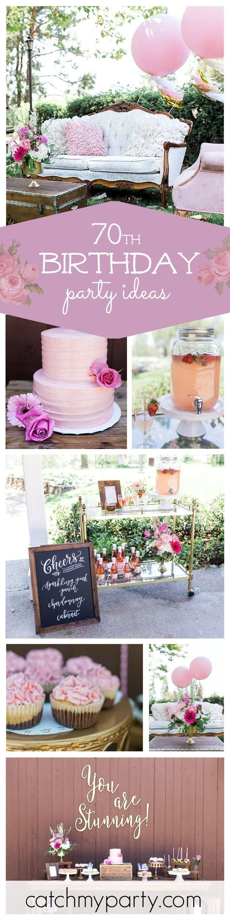 10 Great Surprise 70Th Birthday Party Ideas 72 Best 70th Images
