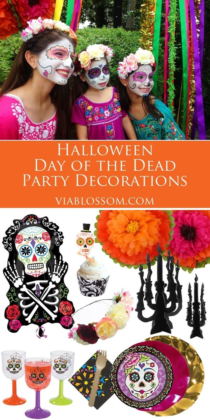 10 Fabulous Day Of The Dead Party Ideas 73 best day of the dead halloween party ideas images on pinterest 2021