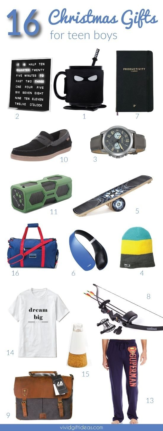 10 Attractive Christmas Gift Ideas For 16 Year Old Boy