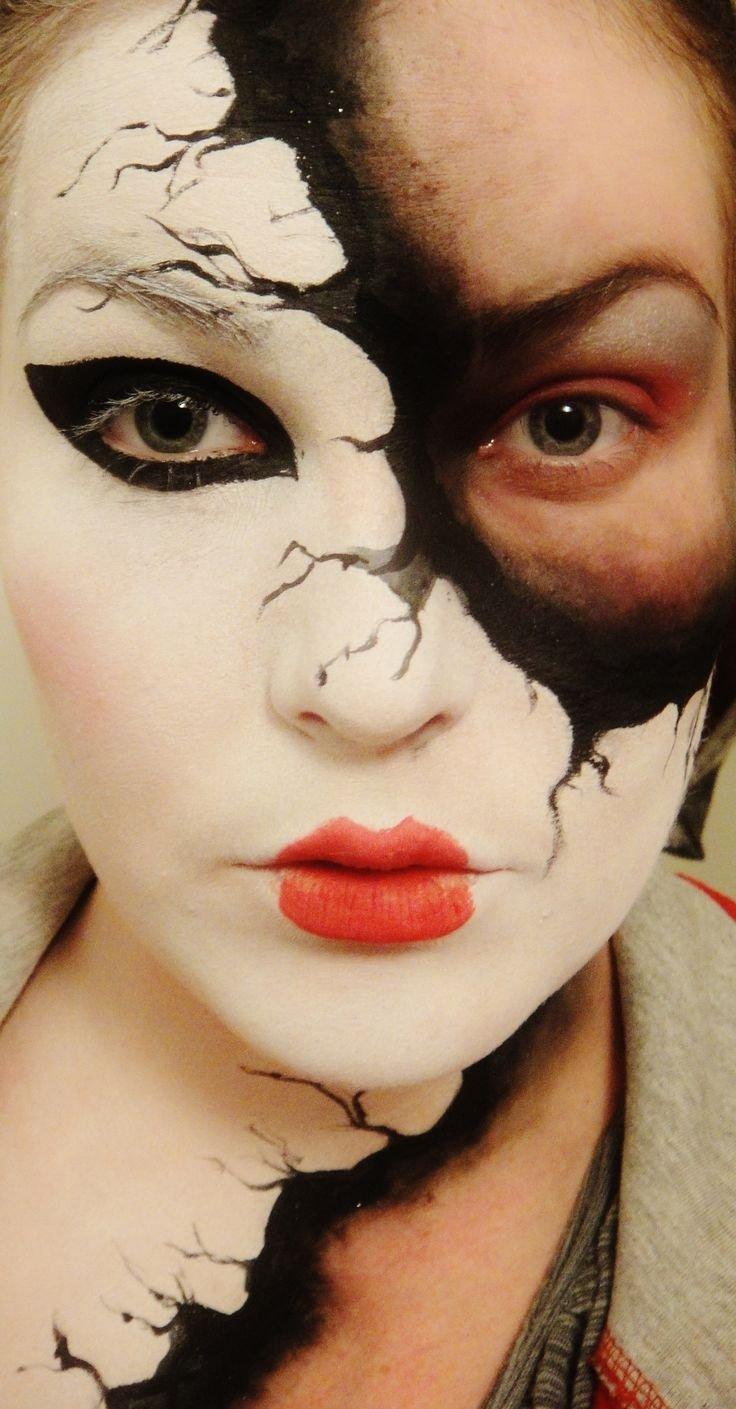 10 Best Cool Halloween Face Paint Ideas 74 best face painting images on pinterest face paintings face 1 2021