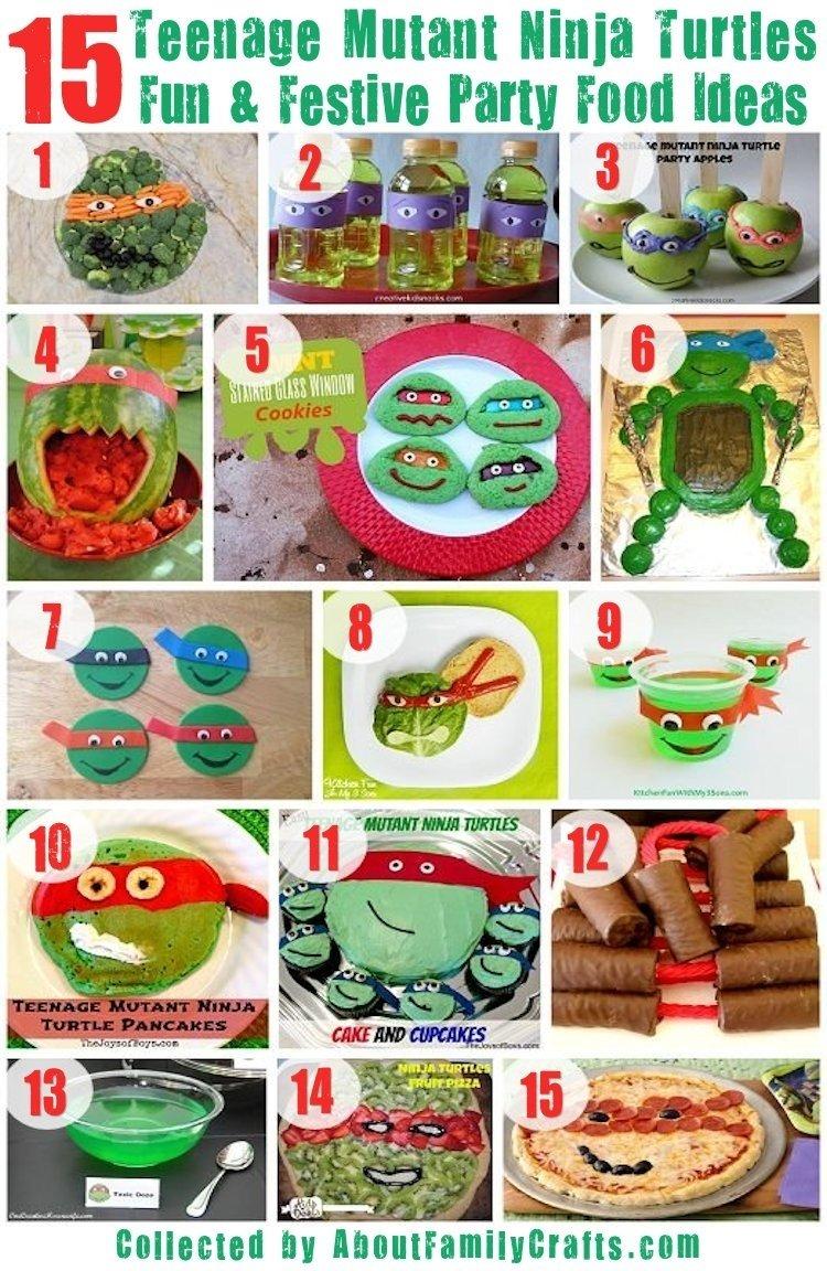 10 Pretty Ninja Turtles Theme Party Ideas 75 diy teenage mutant ninja turtles birthday party ideas about 19 2020