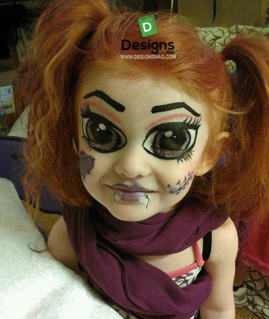 10 Best Cool Halloween Face Paint Ideas 75 easy face painting ideas face painting makeup page 6 1 2021