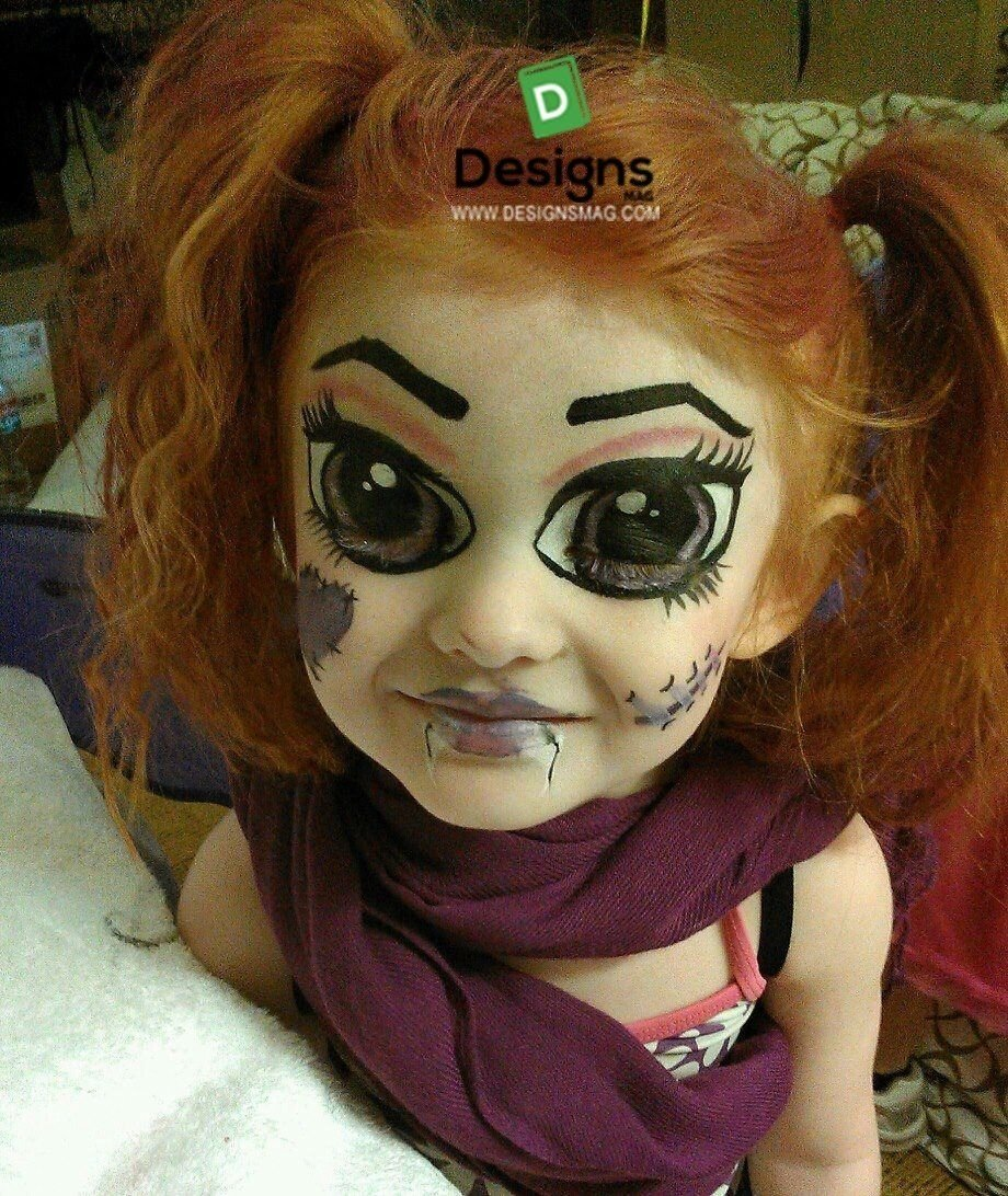 10 fantastic kids halloween face painting ideas 75 easy face