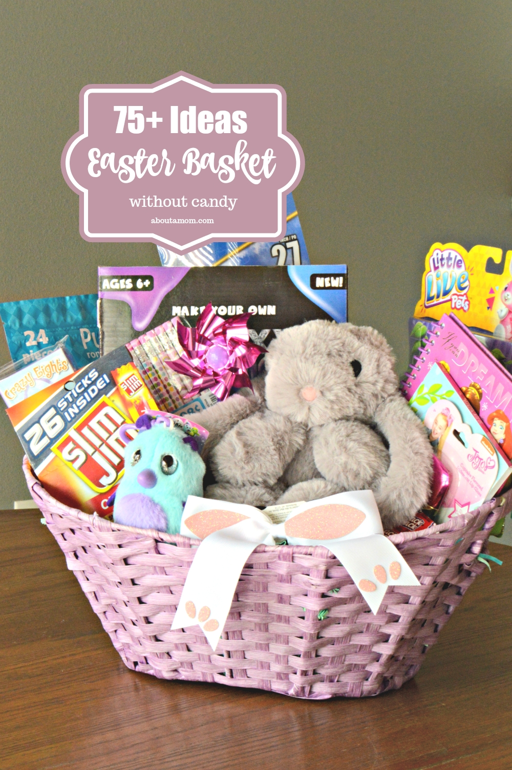 10 Cute Non Candy Easter Basket Ideas 75 fun easter basket ideas about a mom 2 2020