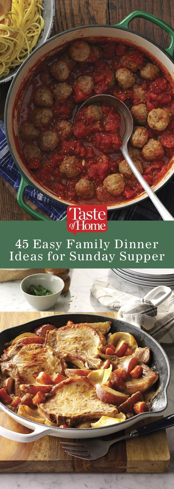 10 Fashionable Sunday Dinner Ideas For Family 78 Best Dinners Images Cooking Recipes