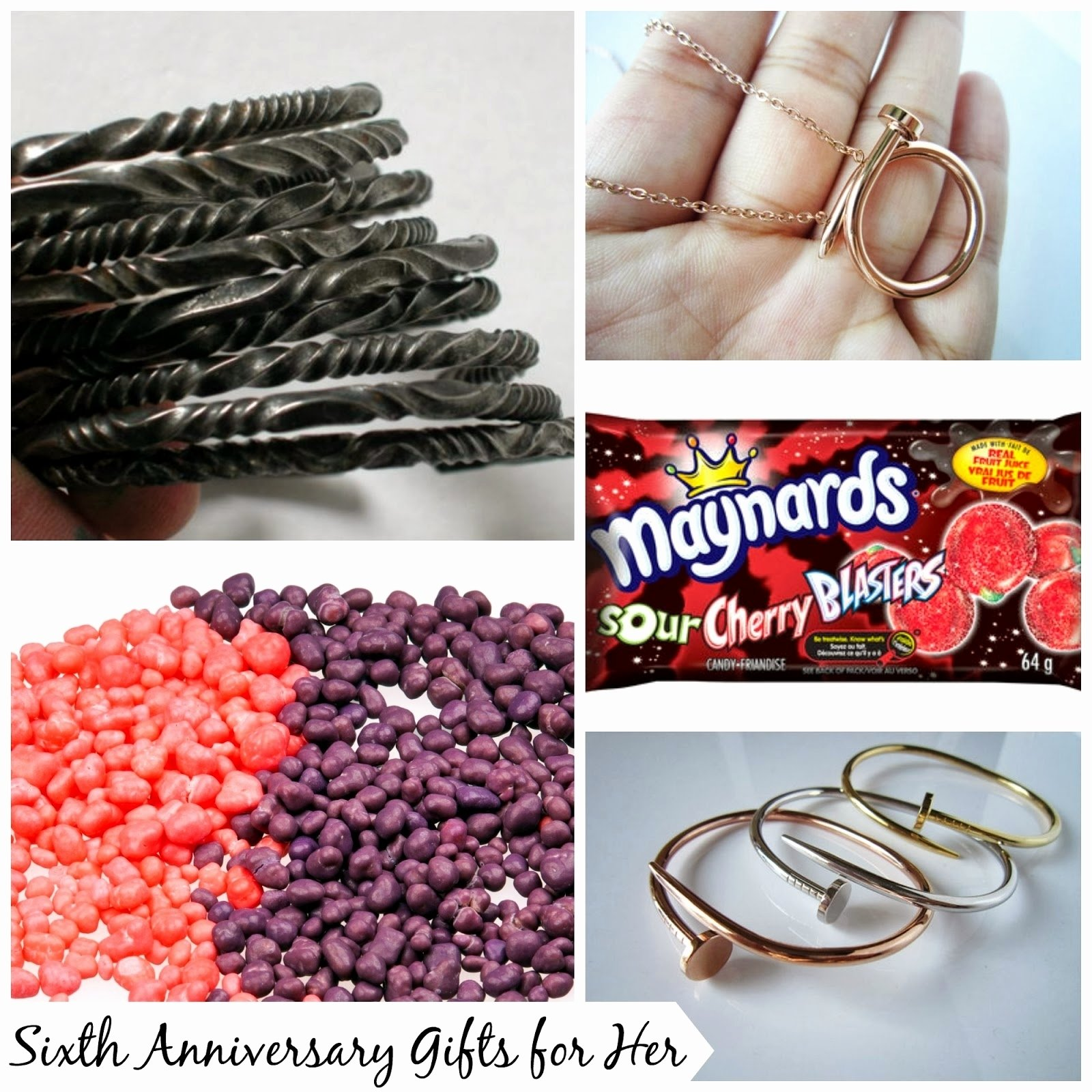 10 Most Recommended 6Th Anniversary Gift Ideas For Her
