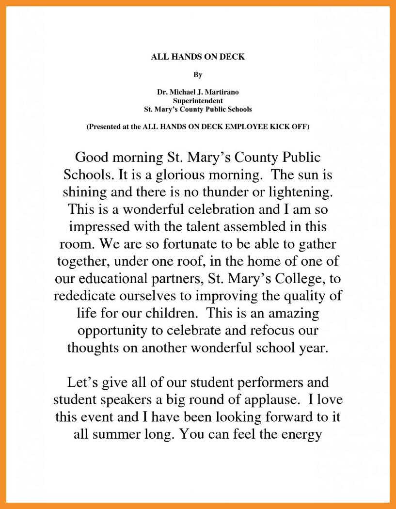valedictorian speech template - 10 cute high school graduation speech ideas