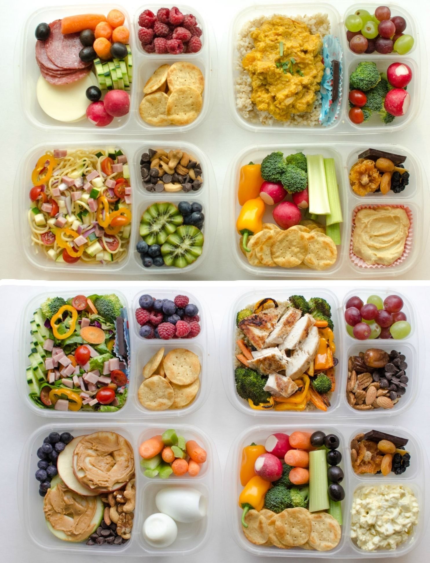 10 Cute Lunch Box Ideas For Kids 8 adult lunch box ideas repas idee lunch et recette healthy 1 2020