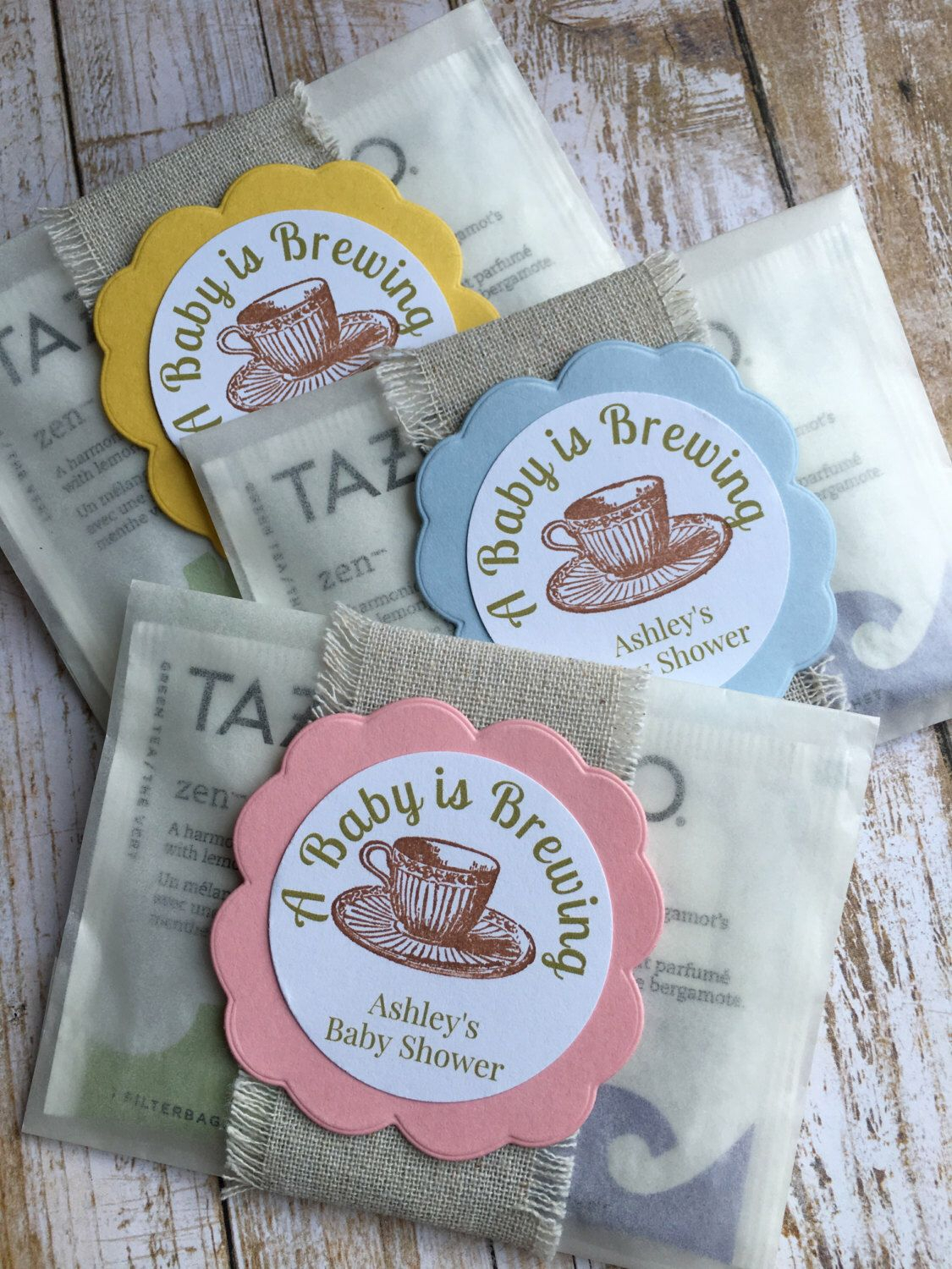 10 Unique Ideas For Favors For Baby Shower 8 baby shower favors baby sprinkle favors baby shower tea bag
