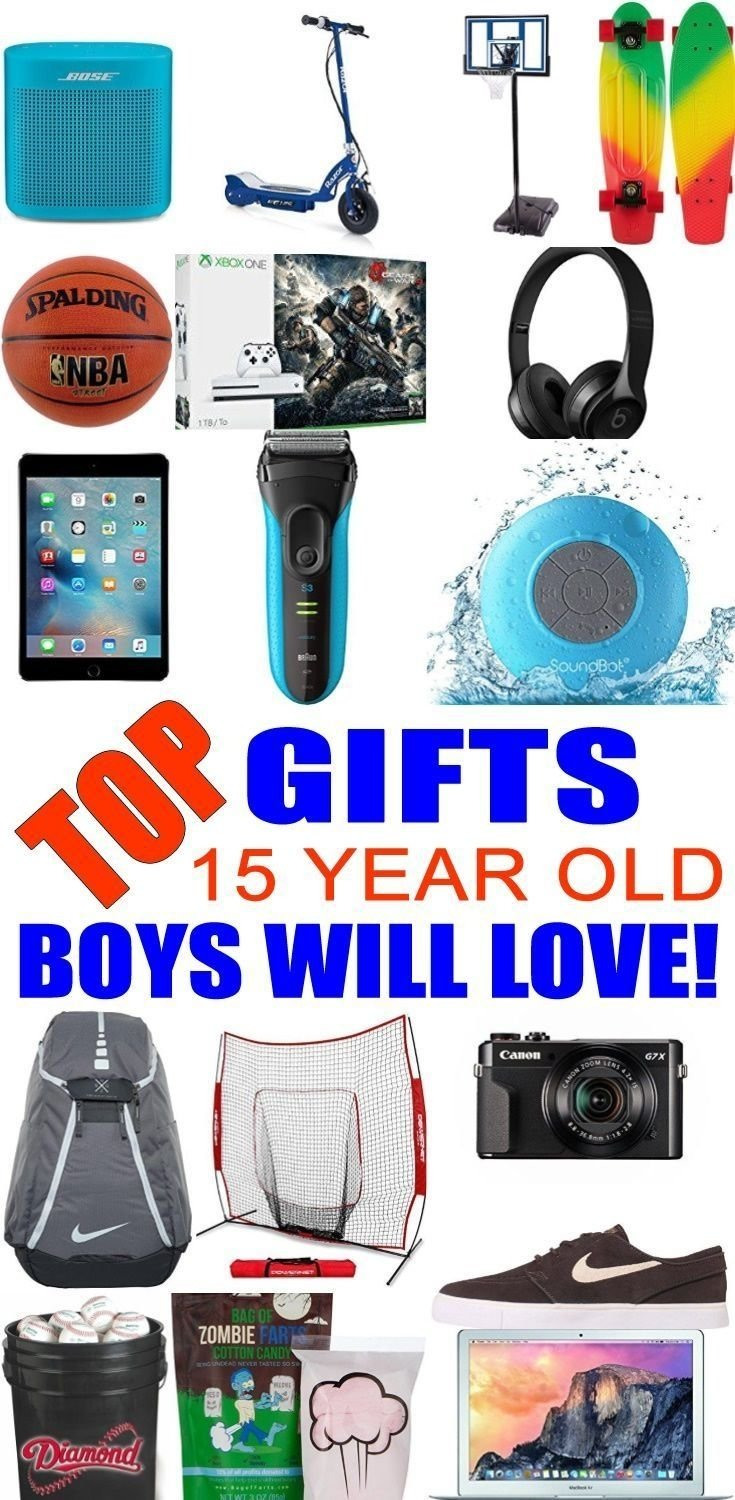 10 Fashionable Gift Ideas For 15 Year Old Boy 8 best gifts for teen boys images on pinterest amazing gifts 2020