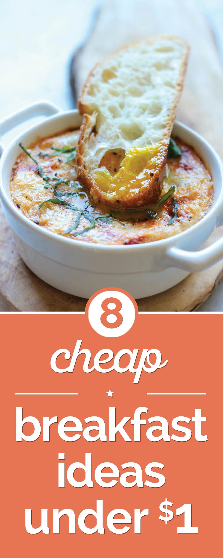 8 cheap breakfast ideas under $1 - thegoodstuff