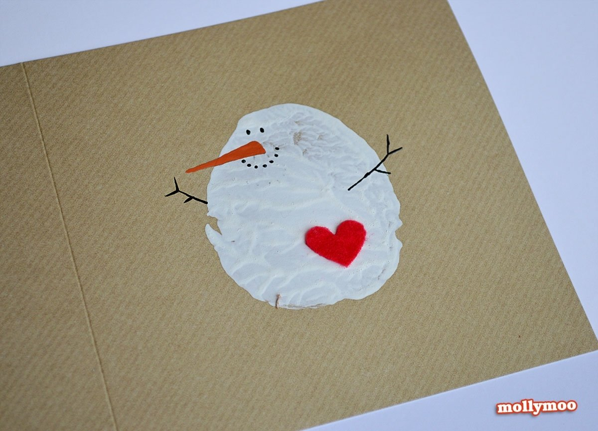 10 Trendy Cute Christmas Card Ideas For Kids 8 crafty and cute kid made christmas cards 1 2021