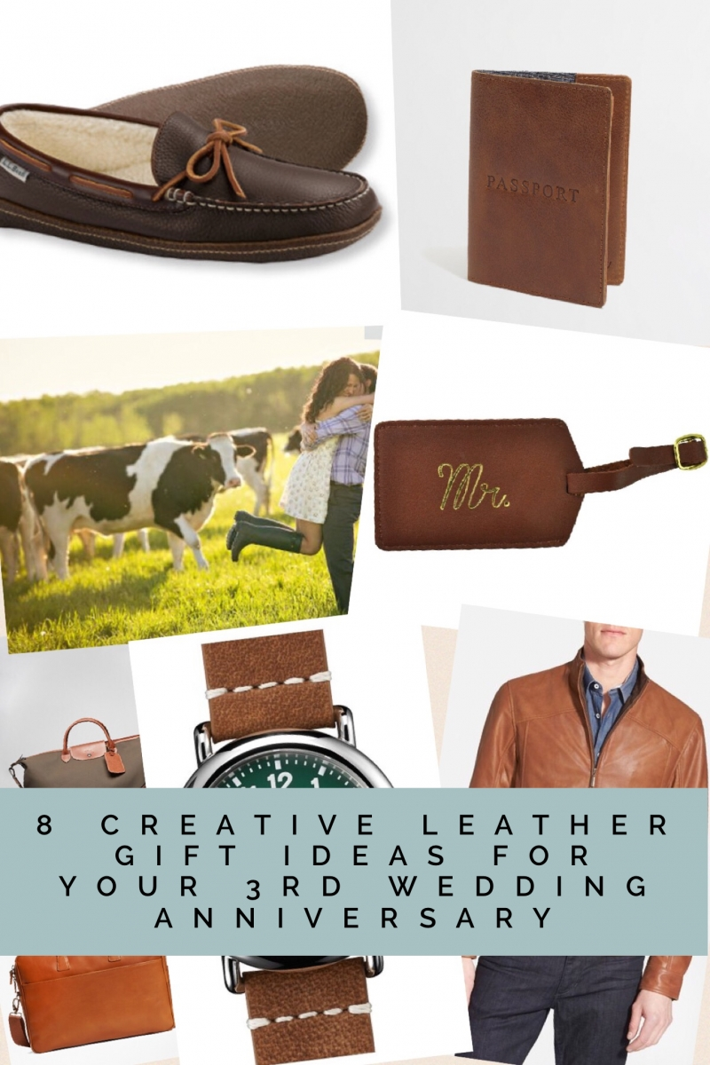 10 Beautiful Third Year Anniversary Gift Ideas 8 creative leather gift ideas for your 3rd wedding anniversary her 6 2021