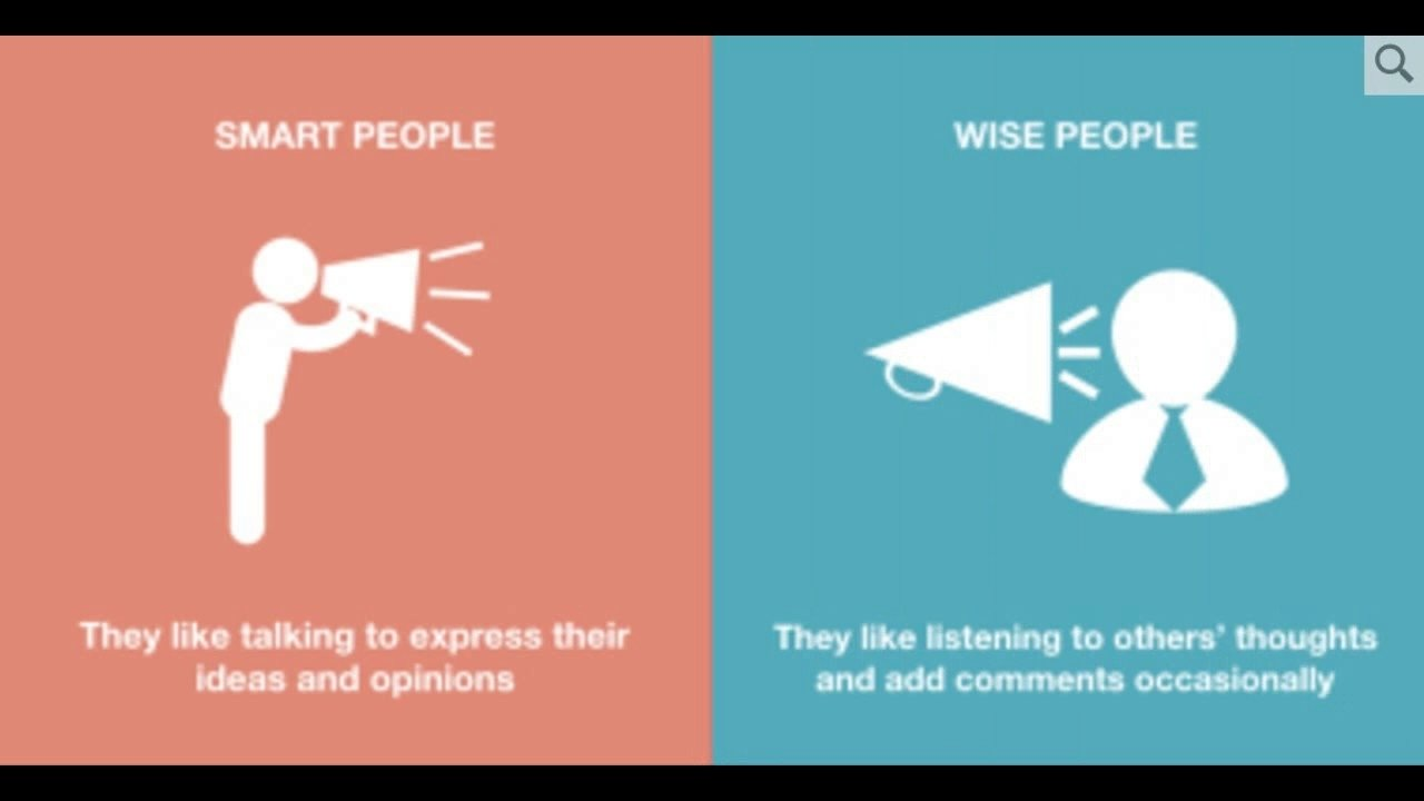 10 Famous Intelligent People Talk About Ideas 8 crucial differences between smart people and wise people youtube 2020