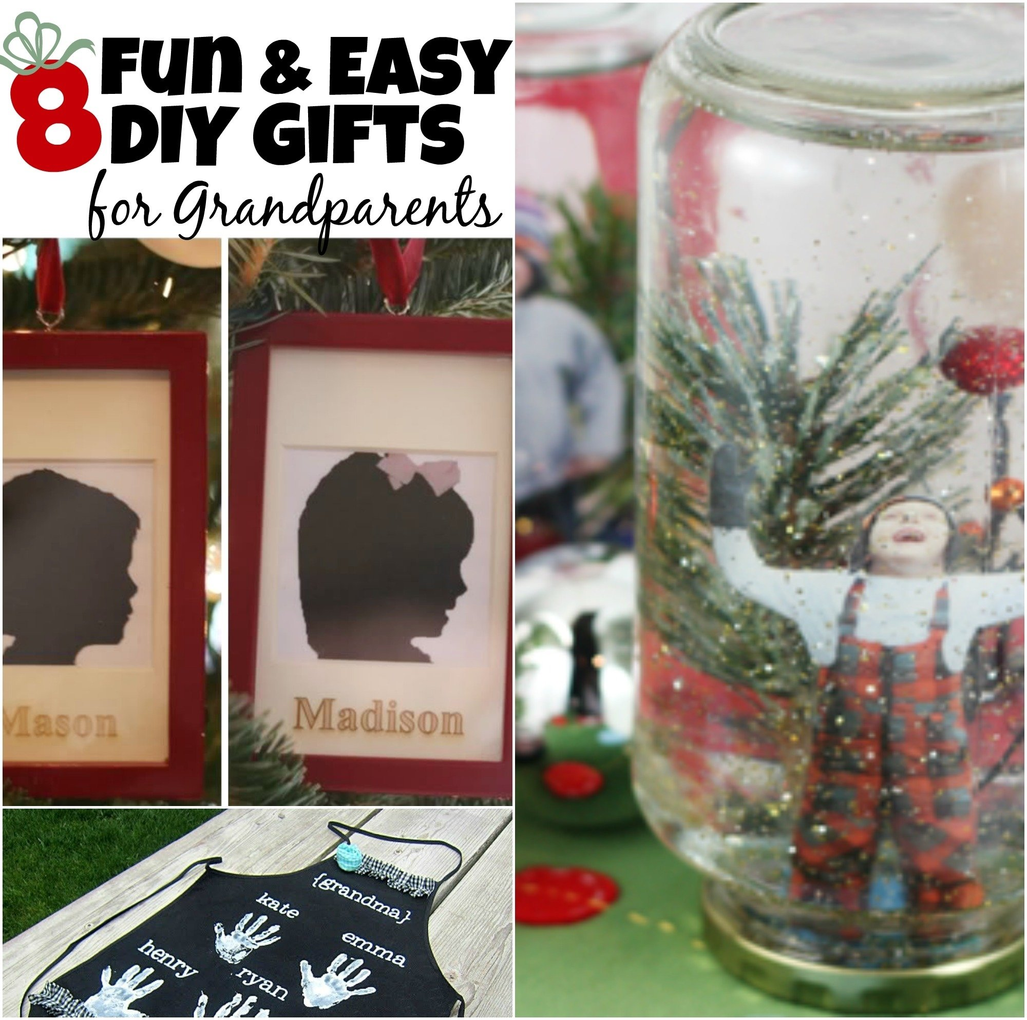 10 Trendy Homemade Gift Ideas For Grandparents 8 diy gifts for grandparents the realistic mama 1