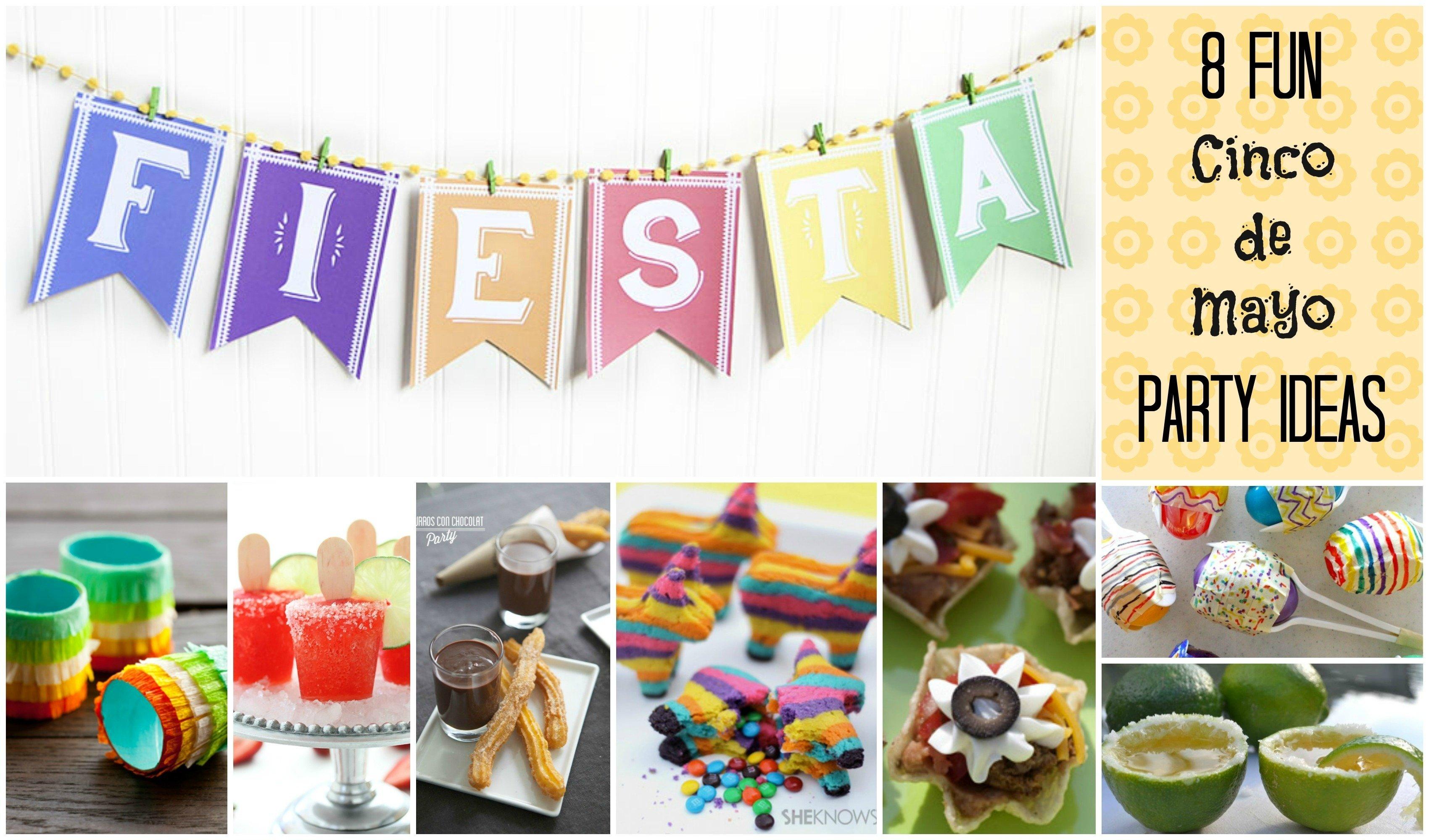 10 Fantastic Ideas For Cinco De Mayo Party 8 fun diy cinco de mayo party ideas my super slo life