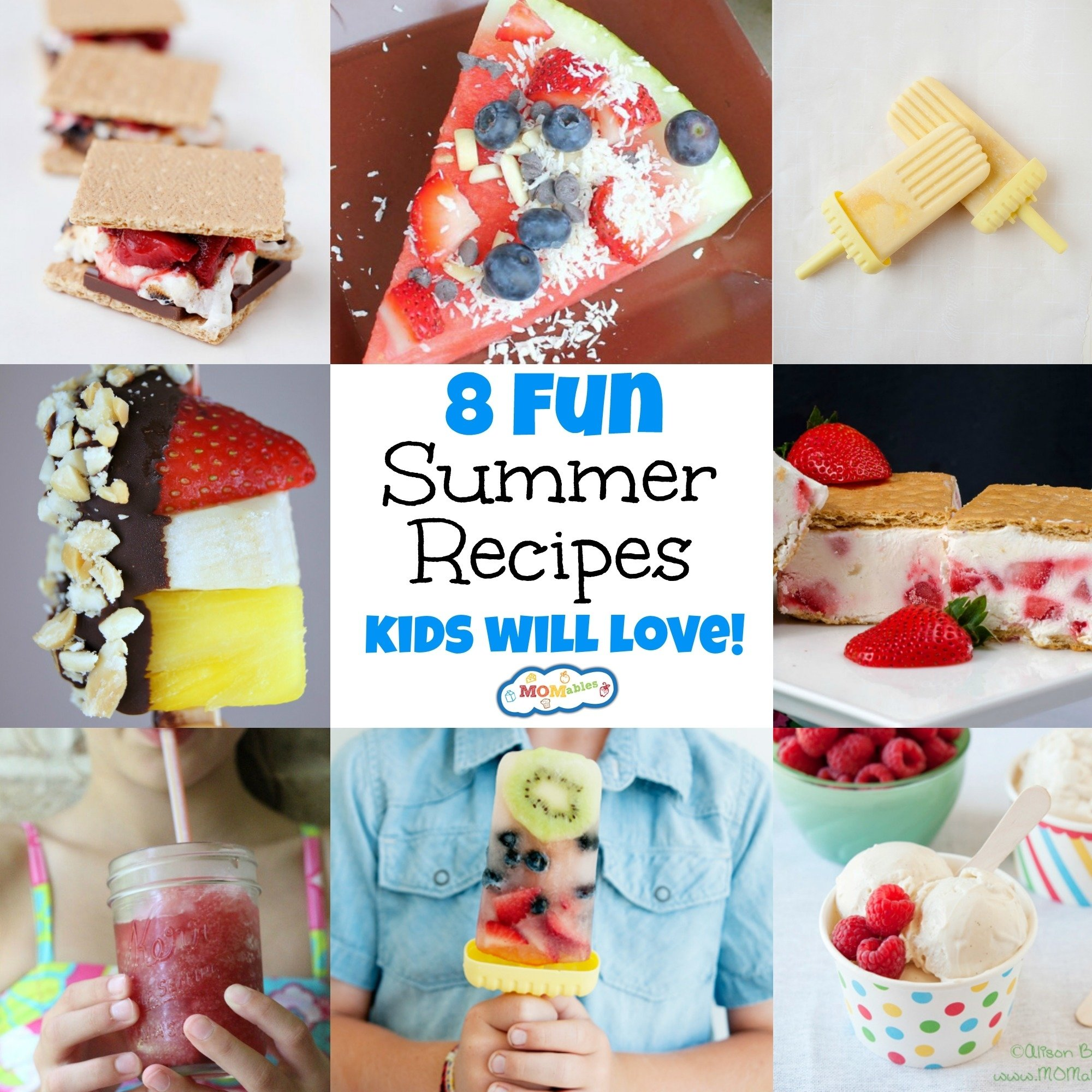 10 Trendy Summer Lunch Ideas For Kids 8 fun summer recipes kids will love momables good food plan on it 2020