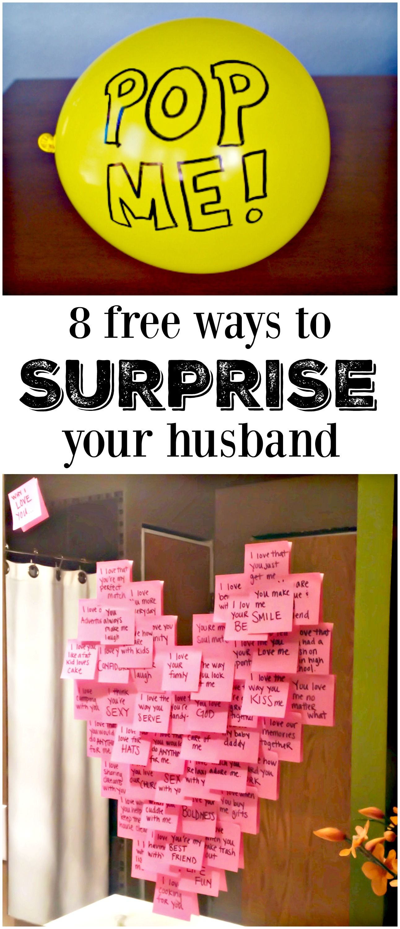 10 Most Popular Valentine Ideas For My Husband 8 meaningful ways to make his day gift ideas regalos de amor