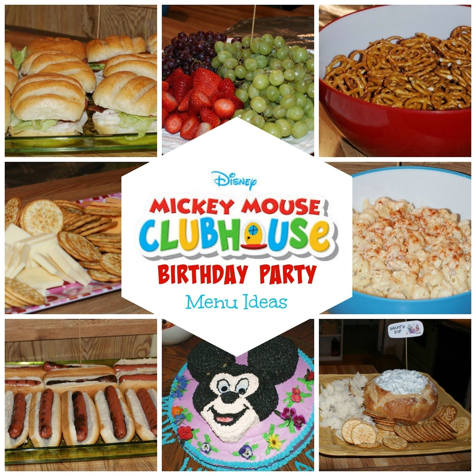 8 mickey mouse birthday party menu ideas | the two bite club