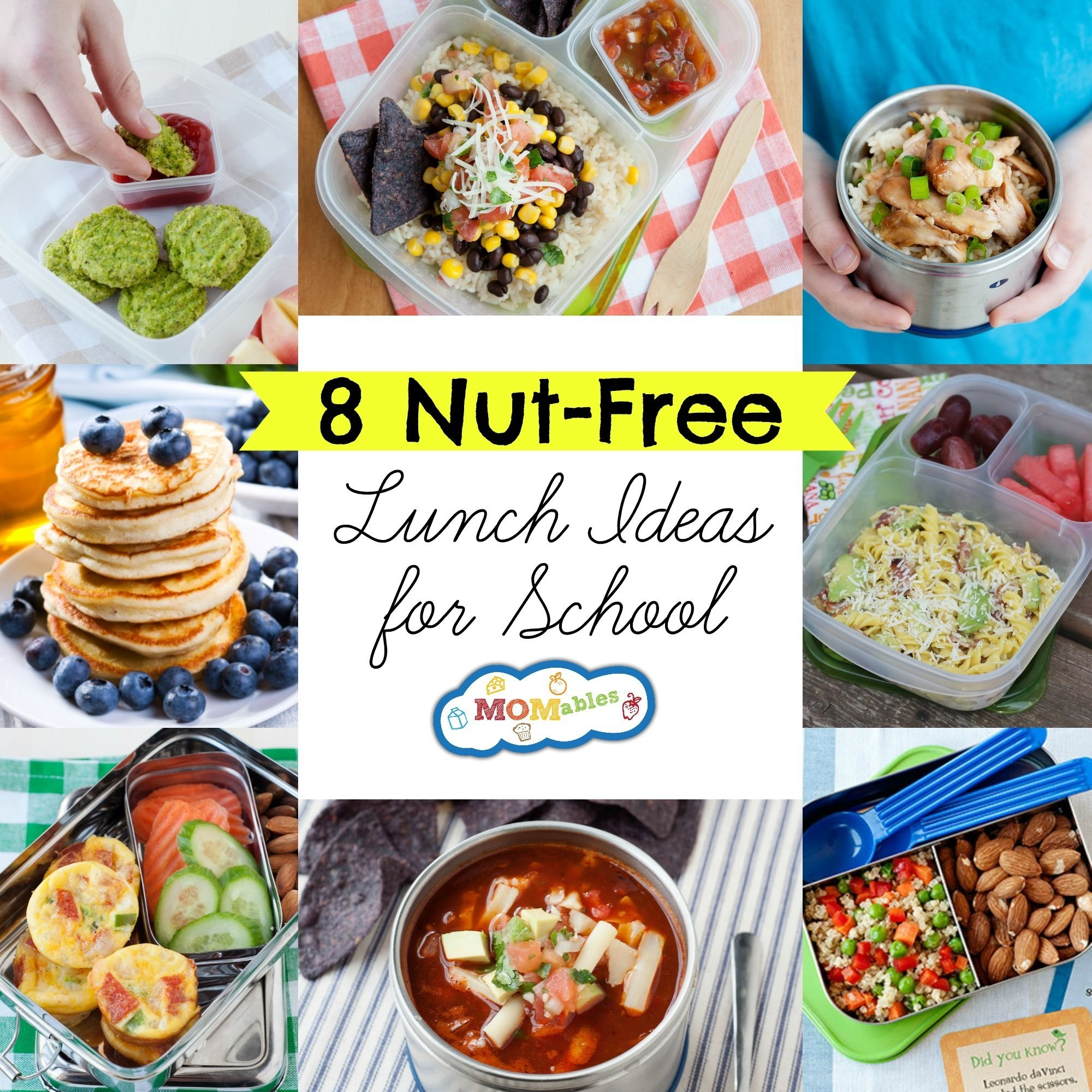 10 Amazing Snack Ideas For Kids School 8 nut free lunch ideas for school momables 3 2020