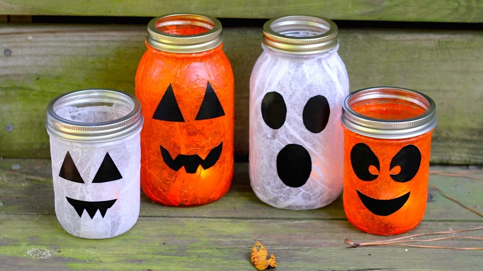 8 quick and easy halloween craft decoration ideas - rent blog