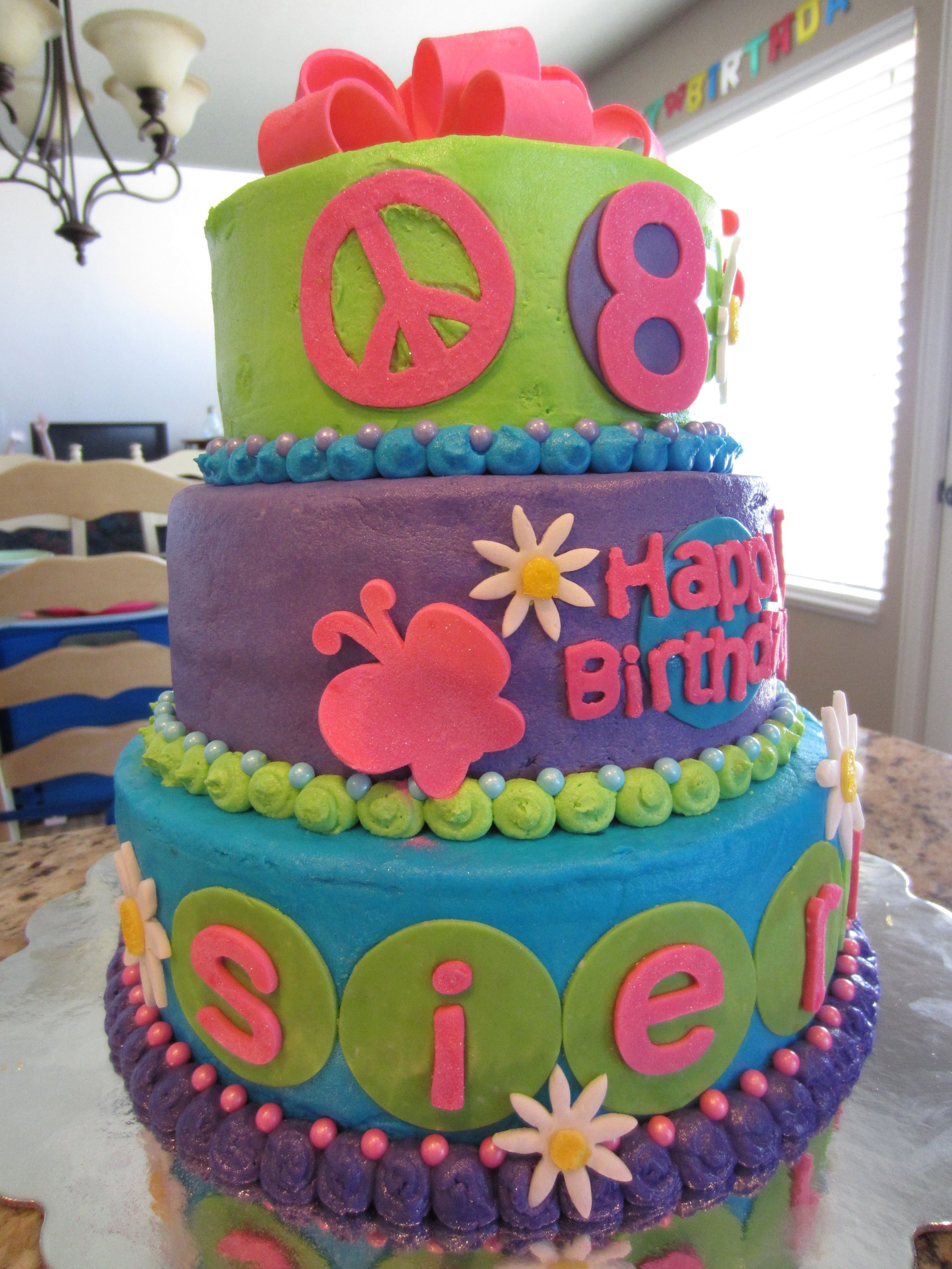 10 Gorgeous Birthday Ideas For 8 Year Old Girl 8 year old girl birthday cake things ive made pinterest girl 2 2021
