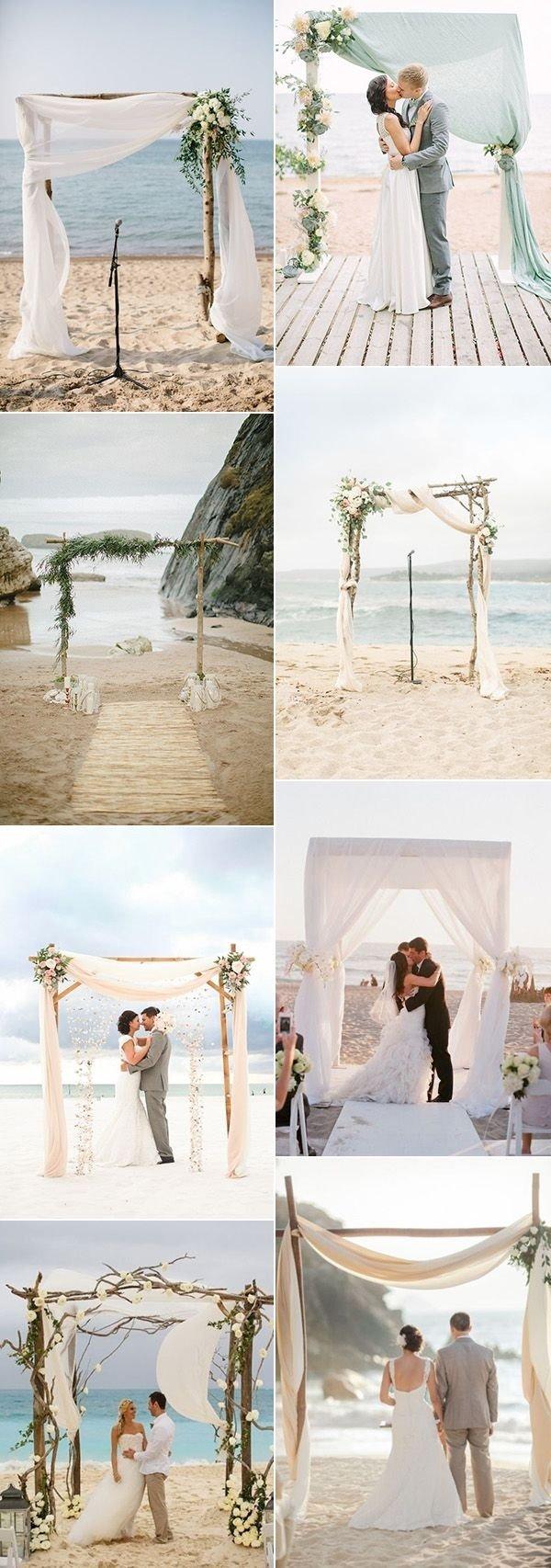 10 Wonderful Ideas For A Beach Wedding 80 best beach weddings images on pinterest beach weddings wedding 2021