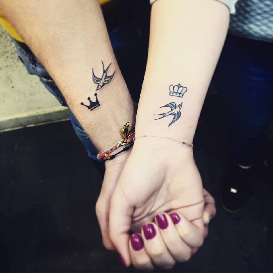 10 Pretty Boyfriend And Girlfriend Matching Tattoos Ideas 80 inspiring couple tattoo ideas to express your lovely in a unique way 2020