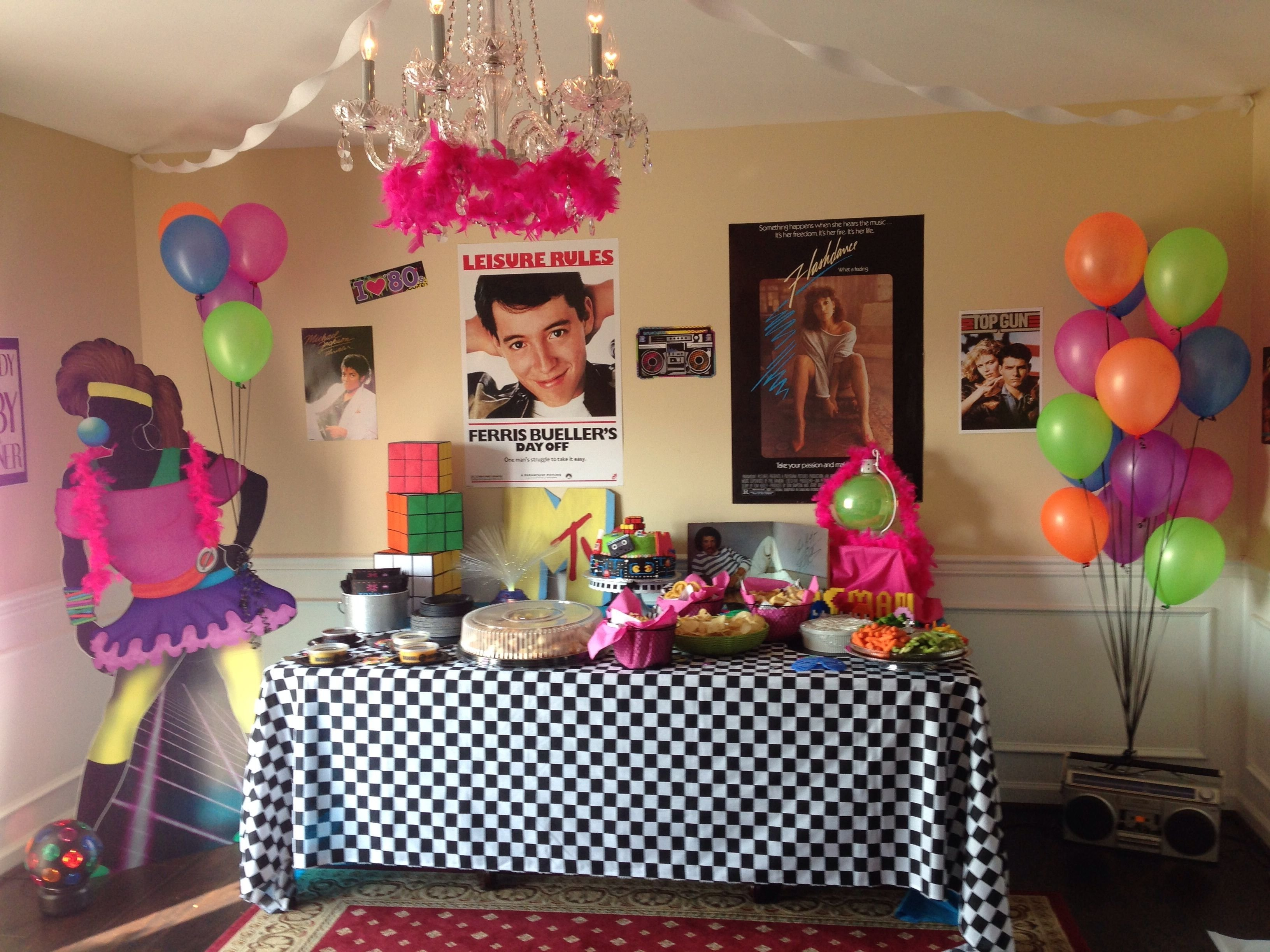 10 Great Crazy 18Th Birthday Party Ideas 80s party 80s party pinterest 80s party 80 s and birthdays 2021