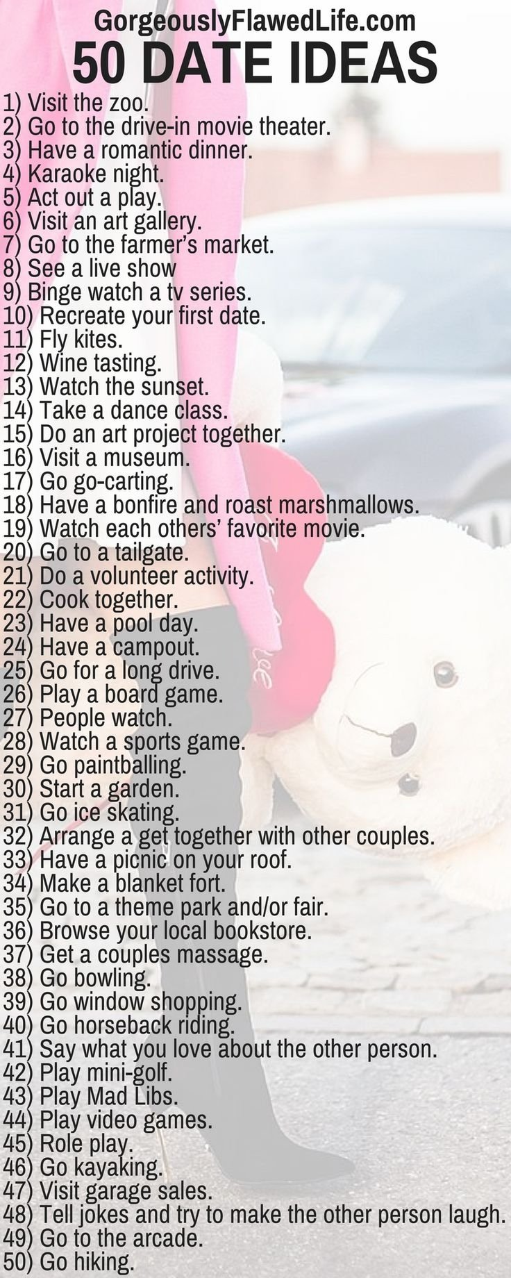 10 Gorgeous Creative Date Ideas For Couples 82 best date night ideas images on pinterest families 2020
